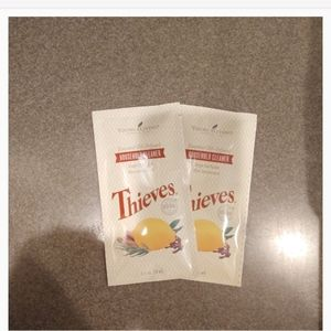Young Living Thieves cleaner packets (2)